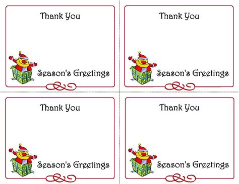 printable thank you card template harmonia gift teachers day