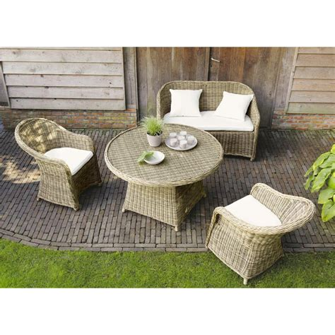 divanetto da giardino divanetto da giardino in resina intrecciata 2 posti st