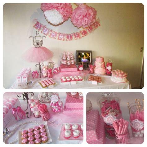 birthday themes baby girl ballerina birthday theme for baby girls 1st birthday