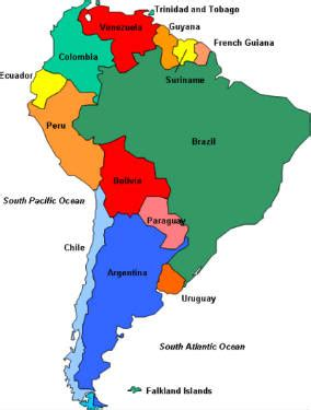 united states map with cities in spanish spanish speaking countries maps