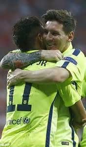 tattoo messi no braço lionel messi luis suarez and neymar the key stats behind