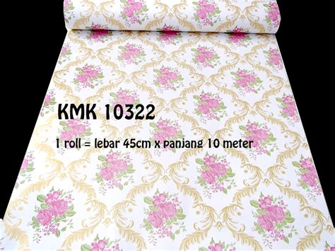 Wallpaper Vin 10 419 L 45cm X P 10m Vincess jual beli wallpaper vin 10 322 vincess baru jual