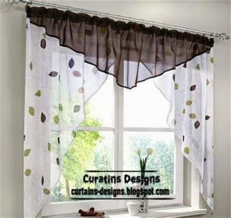 Kitchen Curtain Design Ideas by Cortina Para La Cocina Cortinas Dise 241 Os Curtains