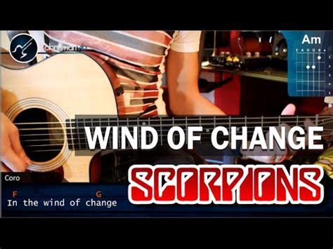 tutorial gitar wind of change c 243 mo tocar quot wind of change quot de scorpions en guitarra