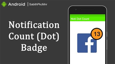android studio notification tutorial notification count badge over app icon android studio 3