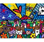 Related Pictures Famous Romero Britto