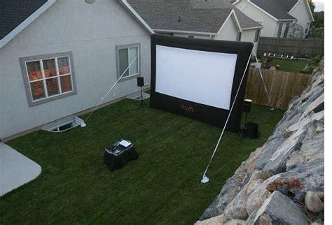 backyard movie projector open air cinema outdoor movie projection projector home