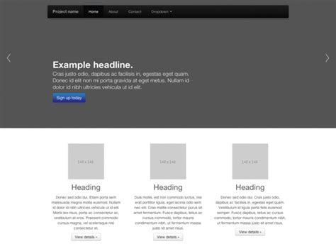 bootstrap tutorial margin create a sleek custom page with bootstrap creative bloq