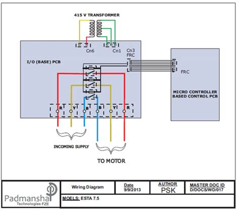 single phase submersible wiring diagram single free
