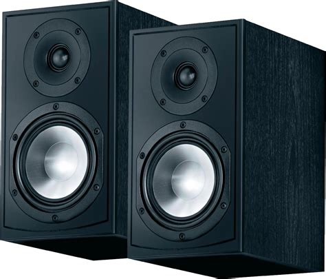 canton gle 420 2 6 quot 2 way bookshelf speaker black pair