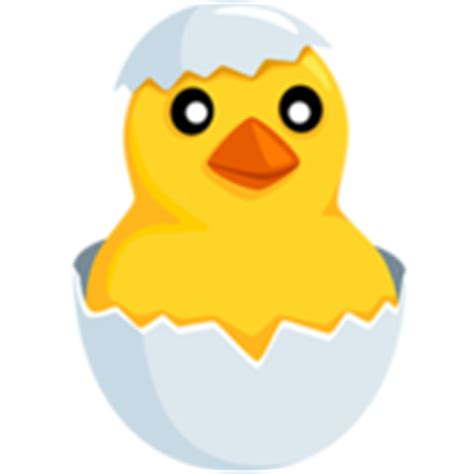 chick film emoji hatching chick emoji on messenger 1 0