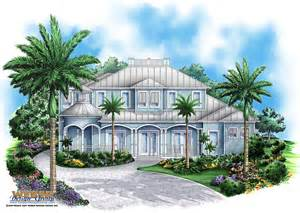 Old Florida House Plans by Coastal House Plan Sunset Cove House Plan Weber Design