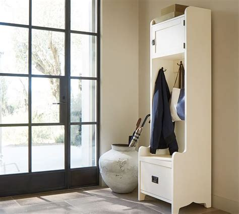 Entryway Cabinet Tower Wade Cabinet Tower Pottery Barn