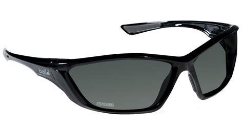 Sunglass Kacamata 2197 Polarized Anti Fog bolle swat tactical safety glasses with shiny black frame and polarized smoke anti fog lens