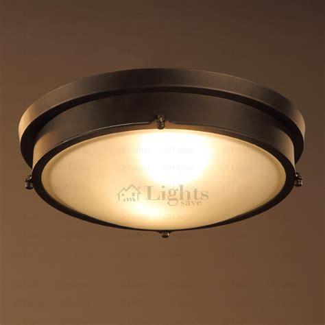 Rustic 2 light hardware industrial ceiling light fixtures