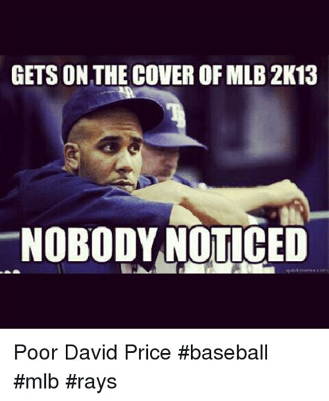 Quick Memes - gets on the cover of mlb 2k13 quick meme com poor david