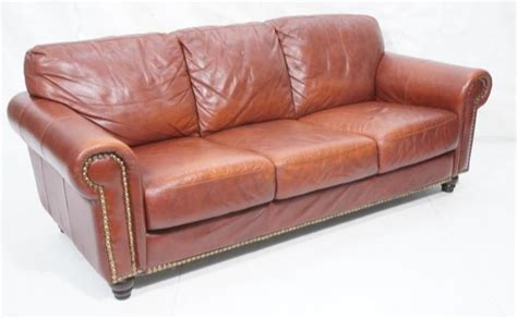 thick leather couch leather sofa couch thick seat and back cushions
