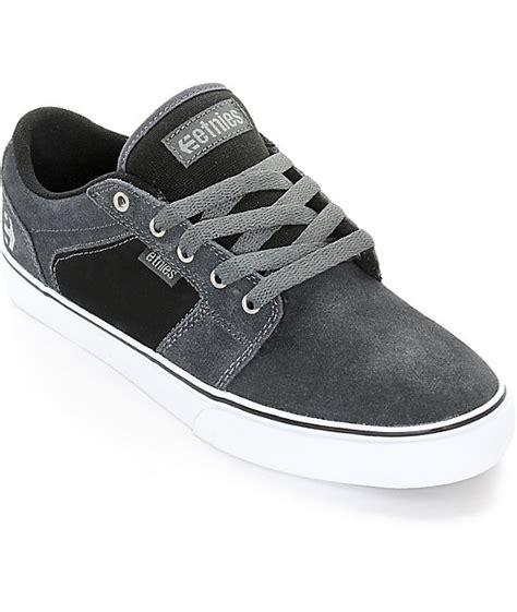 Skateboard Ls by Etnies Barge Ls Skate Shoes Zumiez