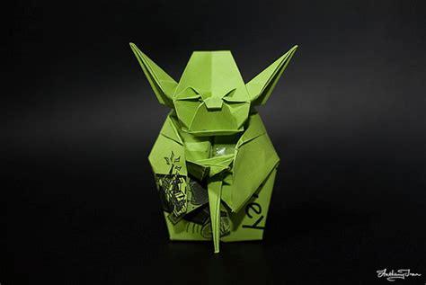 Origami Master Yoda - origami yoda geektyrant