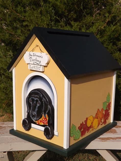box dog house custom wedding card box dog house