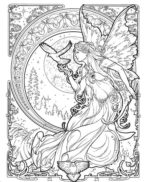 992 best Coloring - Magical, Fairies, Dragons, Fairy Tales