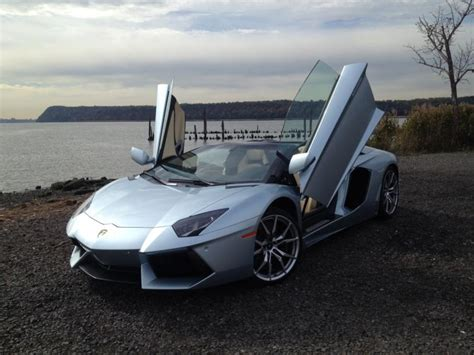 car doors that swing up review lamborghini aventador roadster ny daily news