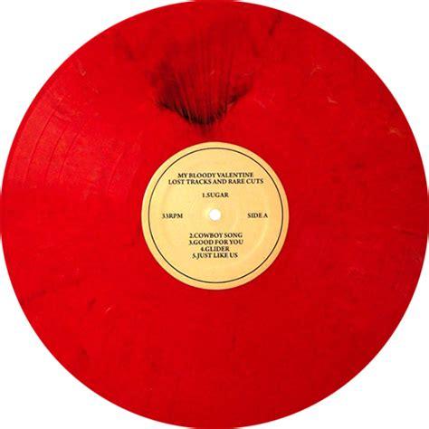 bloody valentine lost tracks  rare cuts colored vinyl