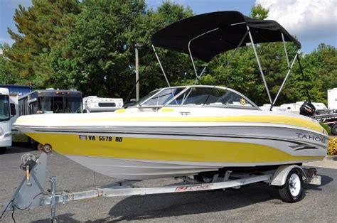 2004 tahoe q4 19 foot yellow 2004 tahoe boat in ashland - Yellow Tahoe Boats