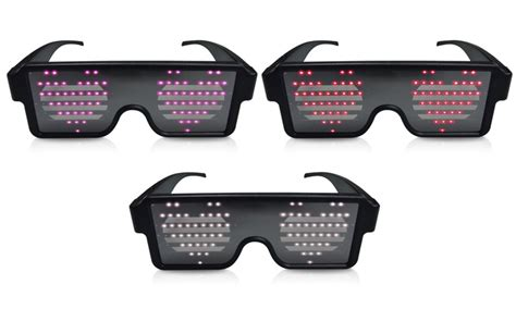 idance light beats party glasses groupon
