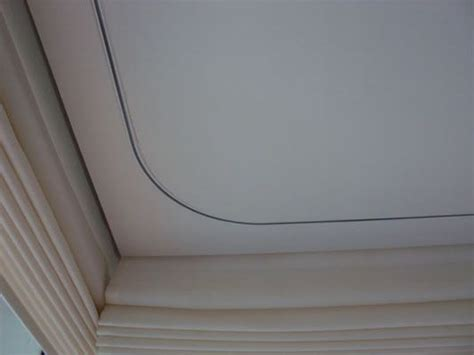 flush ceiling curtain track recessed motorised curtain track bent with ceiling flush