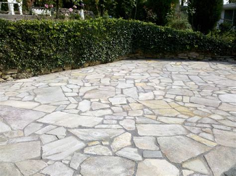 flagstone patio cost time pavers irregular flagstone w gatordust stabilized joints