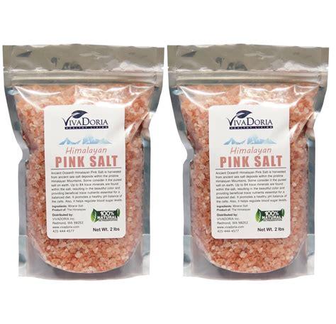 pure himalayan salt l 4 lbs natural himalayan crystal pink salt coarse grain
