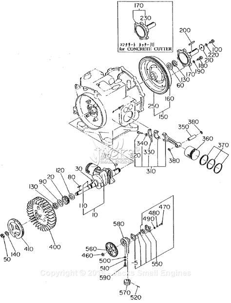 crankshaft parts diagram robin subaru ey21 parts diagram for crankshaft piston