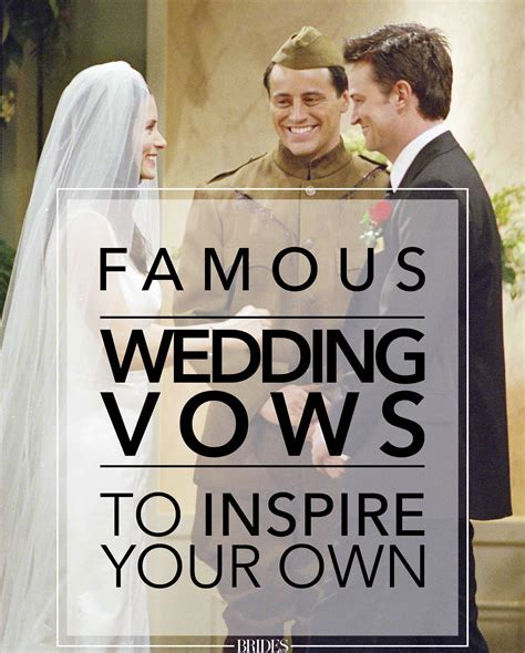 20 Famous Wedding Vows from Movies and TV to Inspire Your