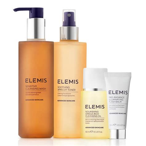 Www Elemis Detox by Elemis Kit Sensitive Cleansing Collection Worth 163 62 75