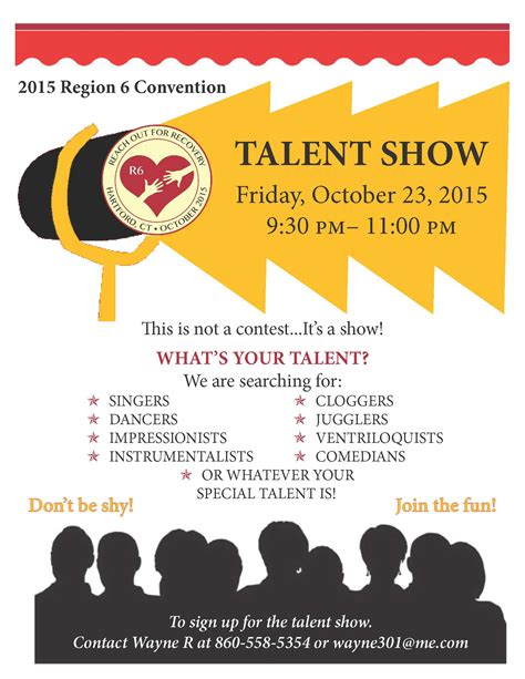 School Talent Show Program Template Bing Images Free Printable Talent Show Flyer Template