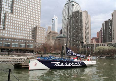 8 million racing yacht vor70 maserati goes 46 mph