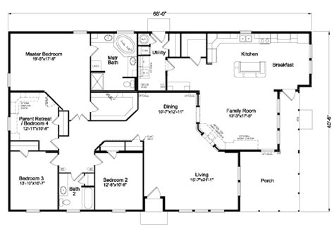 modular home floor plans california the mt shasta 5v465a4 home floor plan manufactured and