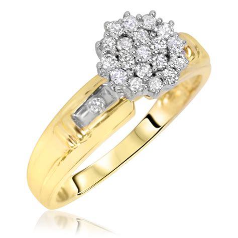 1/3 Carat T.W. Diamond Women's Engagement Ring 14K Yellow
