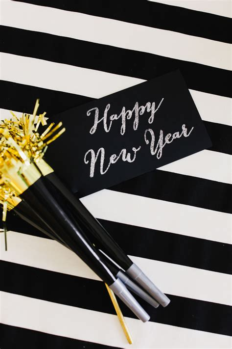 black and gold new years gold and black new year s evite