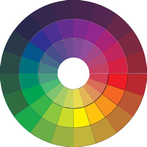 color wheel schemes free coloring pages of primary color wheel