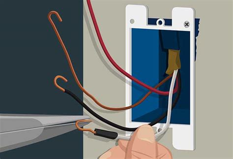 replace light switch 3 wires wiring diagram