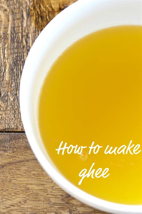 How To Detox With Ghee by How To Make Ghee Clarified Butter Deliciously Organic