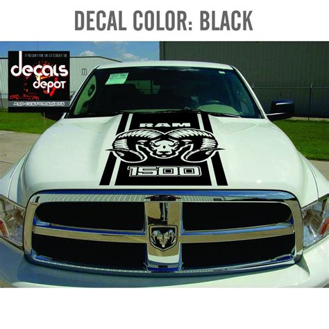 decal vinyl stripes for dodge ram hemi 1500 2500hd