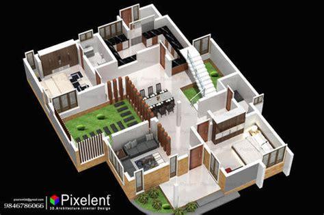 house planner pixelent house planning 3d plan kannur kerala in