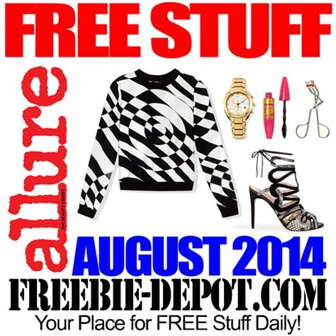 Your Chance To Win Free Stuff by Free Stuff From August 2014 Freebie Depot