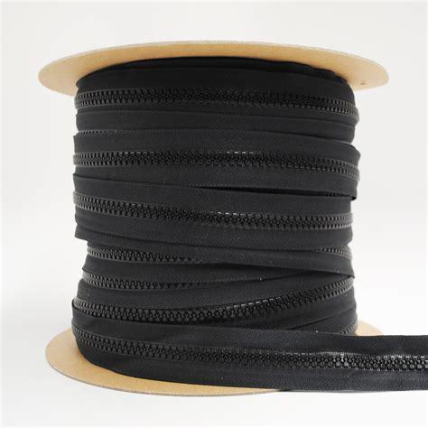 Chain Zipper ykk 174 10 vislon 174 chain zipper black manart hirsch