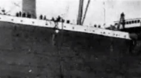 imagenes reales del titanic 1912 im 225 genes originales del titanic en 1912 video