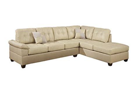 sectional sofa pieces sold separately poundex bobkona randel bonded leather 2 reversible