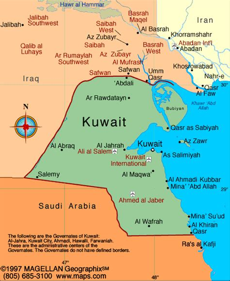 Distance Mba In Kuwait by Kuwait Map Infoplease